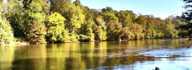 SOLD Very Private Ocmulgee River Lot - 4.7 Acres
